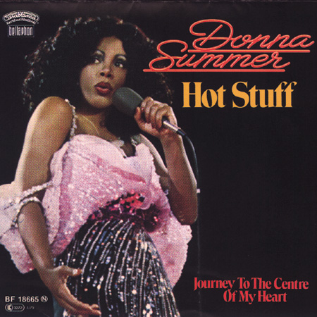 Single-Cover Donna Summer Hot Stuff