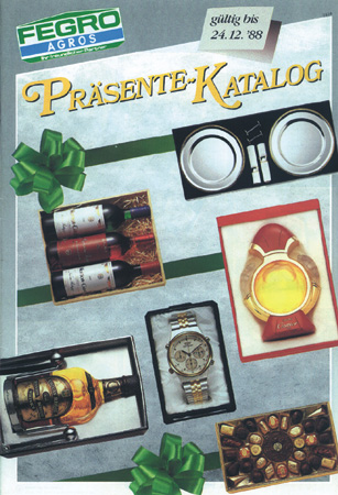 Präsente-Katalog FEGRO